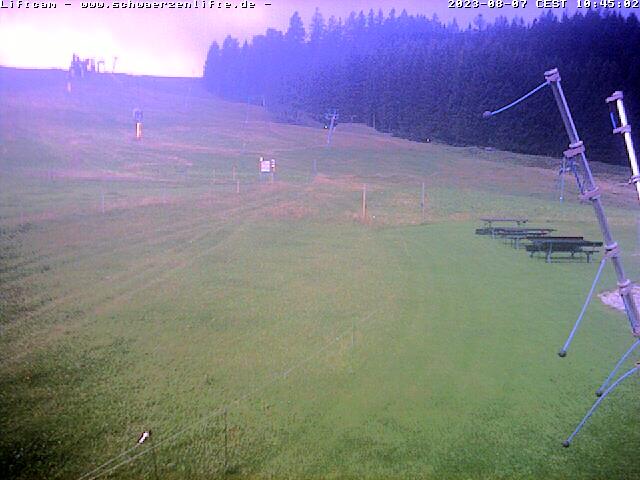 Webcam Skigebied Eschach - Schwärzenlifte Allgäuer Alpen