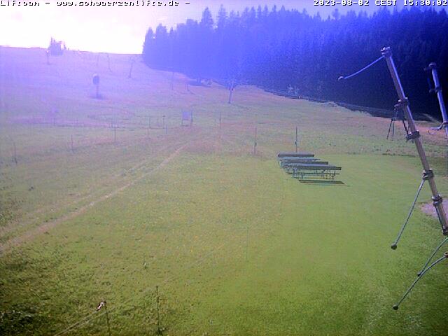 Webcam Skigebiet Eschach - Schwärzenlifte Allgäu
